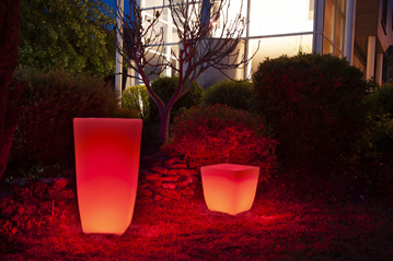 Jardinière ambiance lumineuse