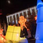 Photo modulo, le sapin lumineux à led